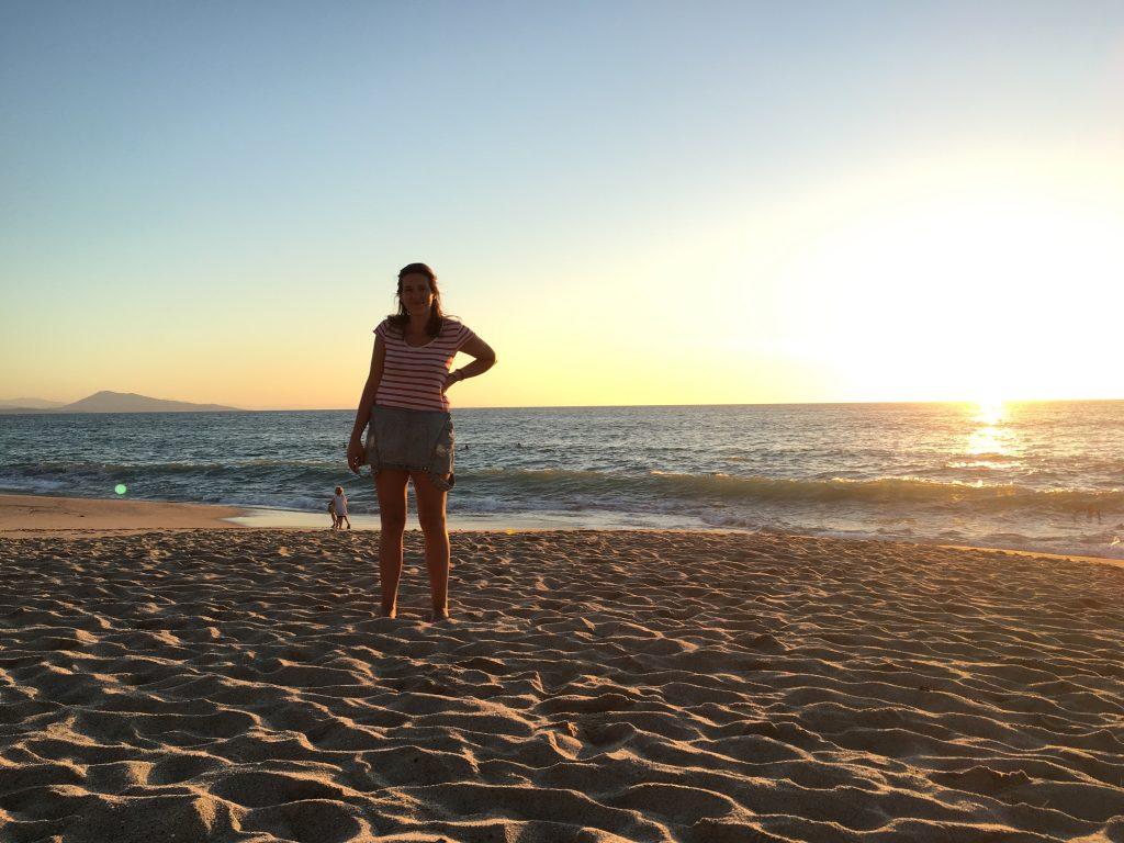 Jeden Tag ein anderer Sonnenuntergang - jedes Mal wunderschön.
