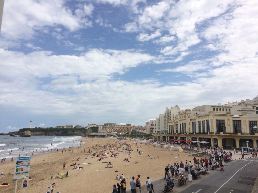 Biarritz - pittoresk und irgendwie lässig