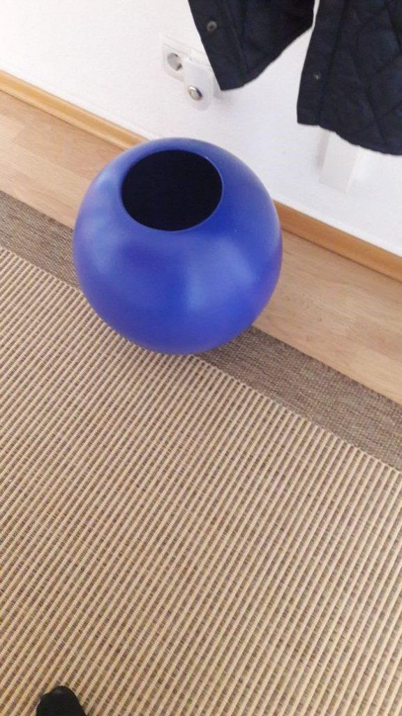 Vase und Teppich passen nicht mehr zueinander!