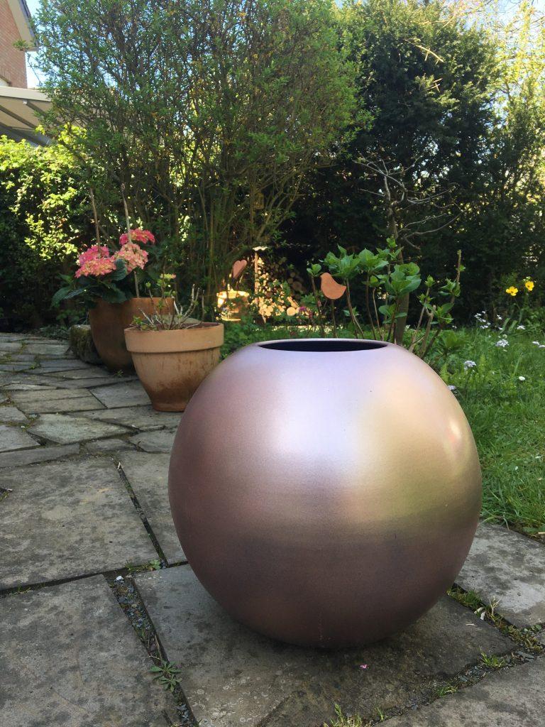 DIY Vase umlackieren