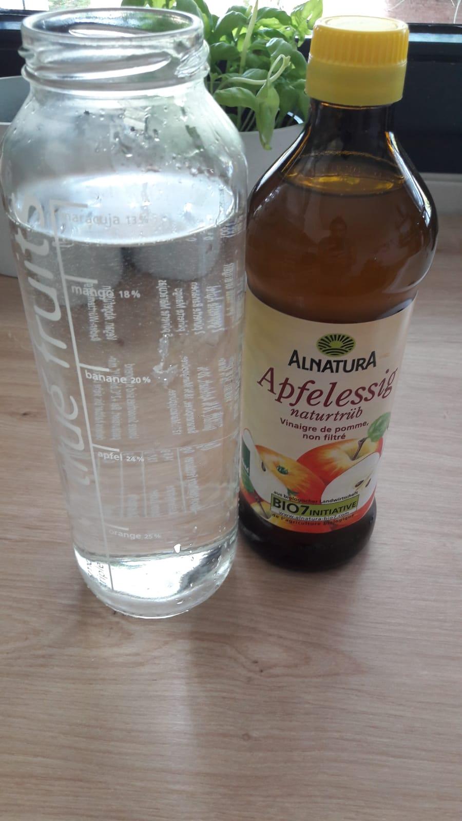 Apfelessig-Rinse