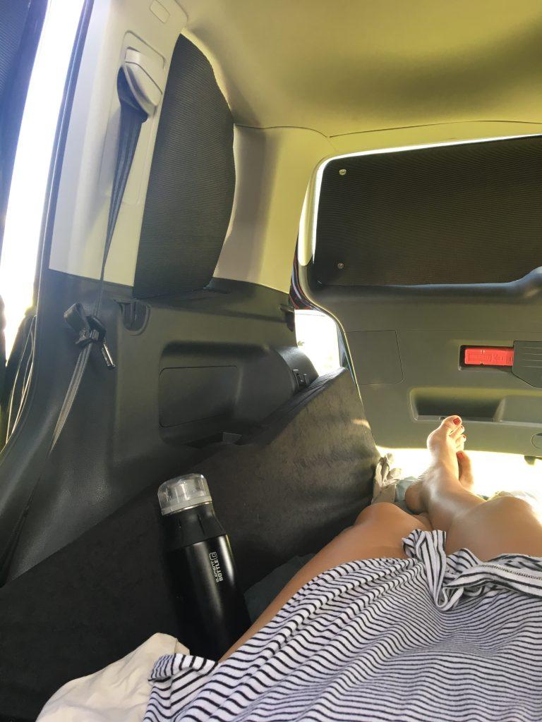 VW Touran als Campervan